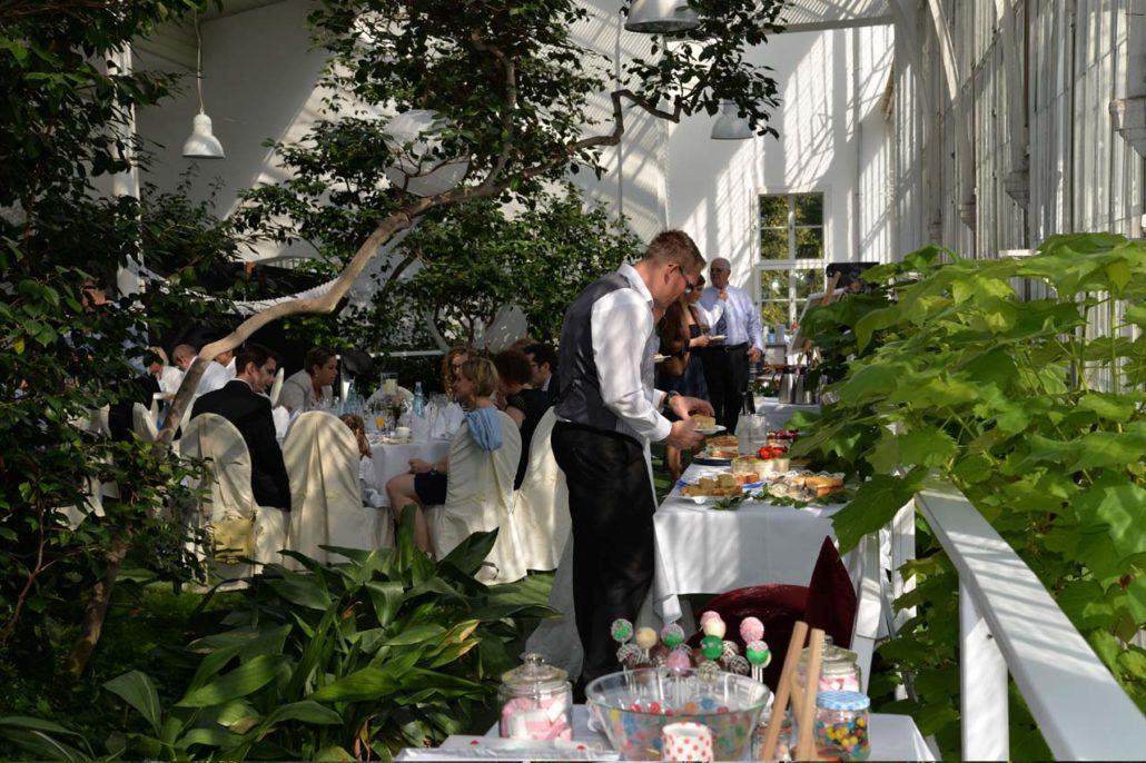 Feiern Im Gewachshaus Am Schloss Wilhelmshohe